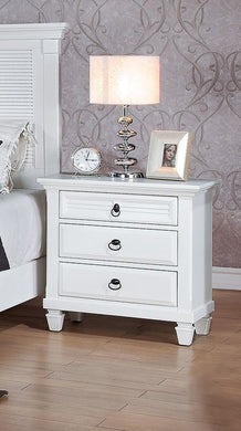 Acme Merivale Nightstand , White
