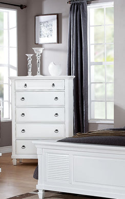Acme Merivale Chest, White