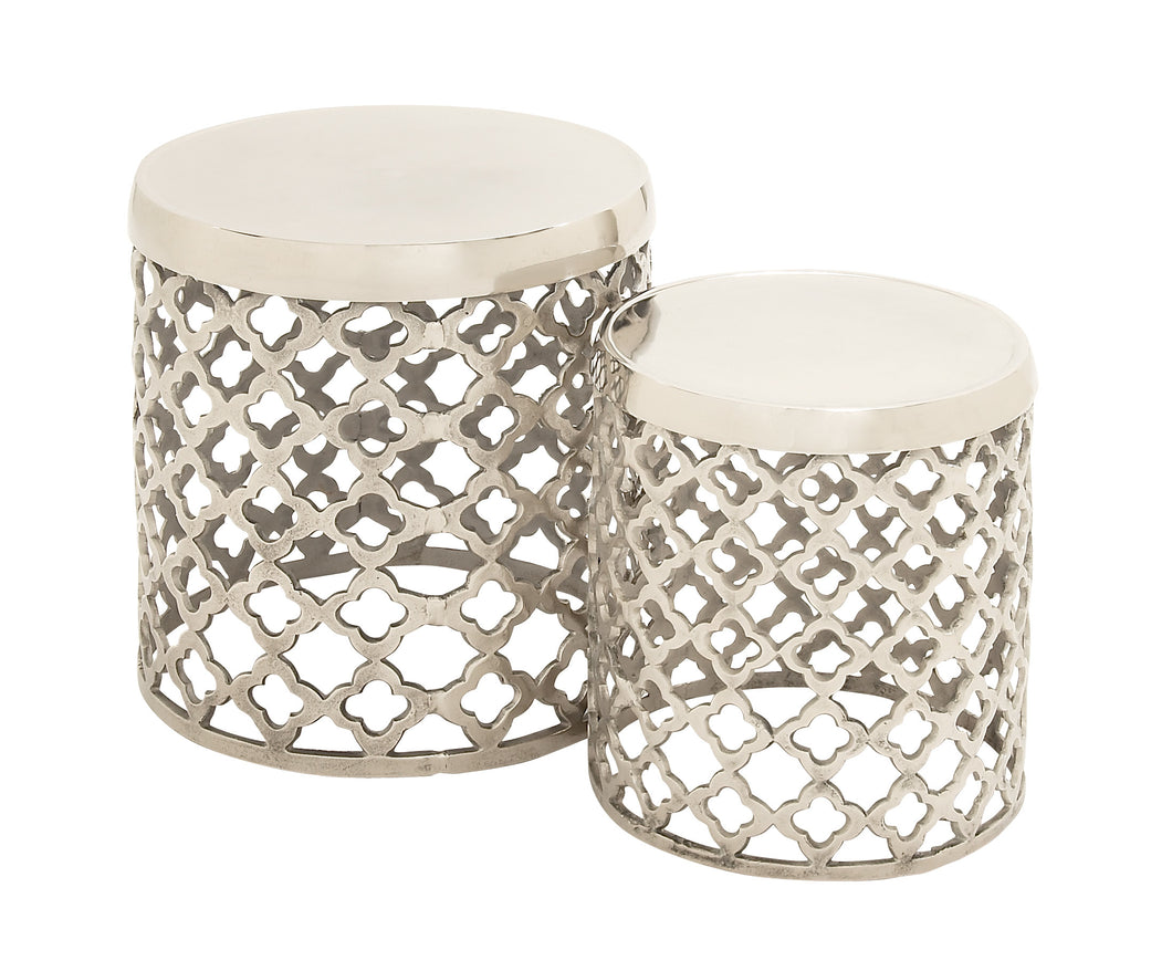 Simply Stylish Aluminiumn Stool Set Of 2