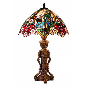 Tiffany Style Flower Design Table Lamp