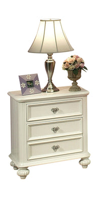 Acme Athena Nightstand, White