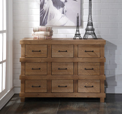 Acme Adams Dresser, Antique Oak