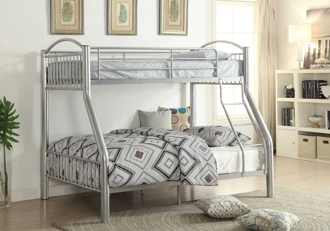 ACME Cayelynn Twin Over Twin Bunkbed in Black