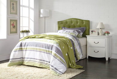 Acme Viola Queen/Full Headboard Only, Green PU