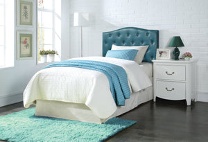 Acme Viola Queen/Full Headboard Only, Blue PU