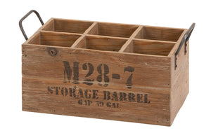 Wood Wine Crate Suitable For Your Home Bar