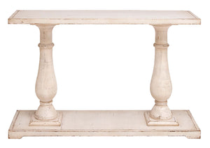 Console Table With Refined And Elegant Style In Light Brown