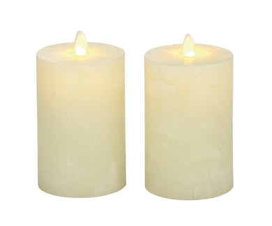 Superb Set Of 2 Flameless Candle With Remote