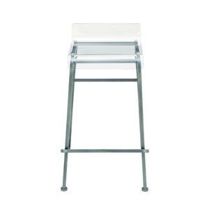 Attractive Metal Acrylic Bar Stool