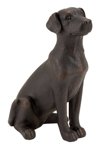 Table Top Polystone Dog Statue