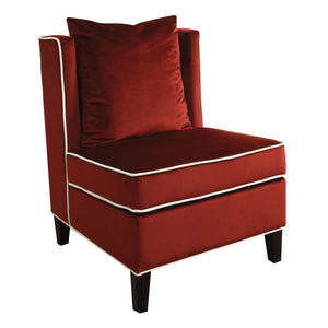 ACME Ozella Accent Chair in Red