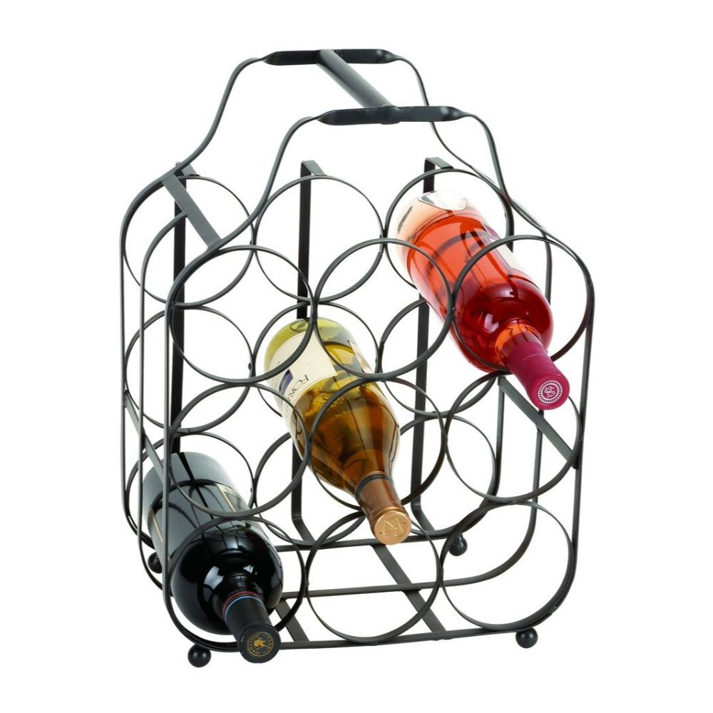Durable Metal Wine Rack