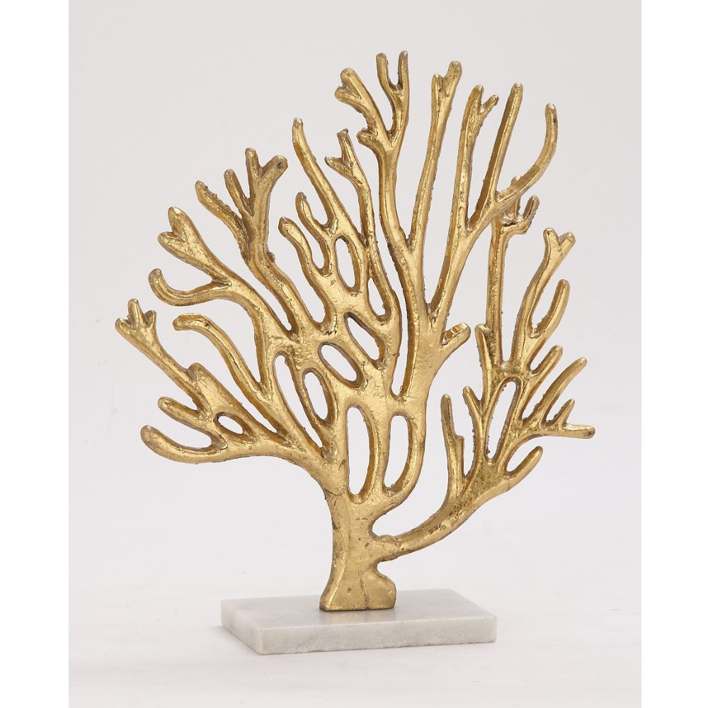 Arty Metal Marble Gold Tree