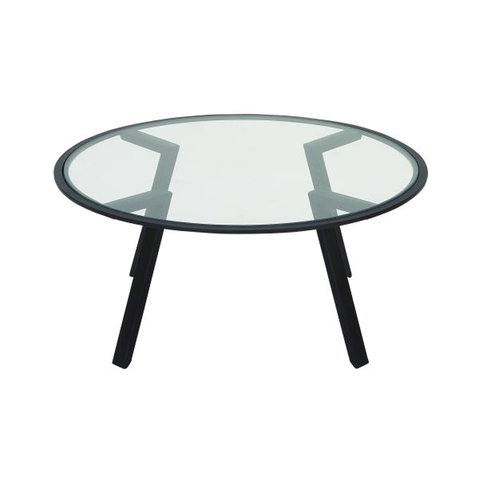 Chic Metal Glass Table