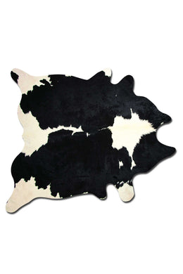 Kobe 6' X 7' Cowhide Rug - Black & White