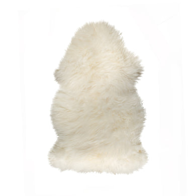 New Zealand Single Sheepskin Rug 2' X 3' - Natural
