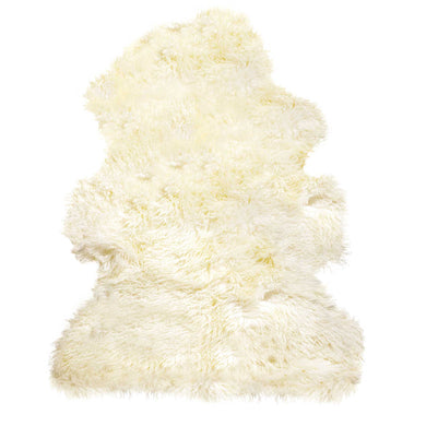 New Zealand Curly Single Sheepskin Rug 2' X 3