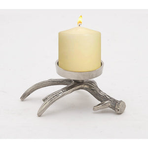 Arty Aluminum Antler Candle Holder