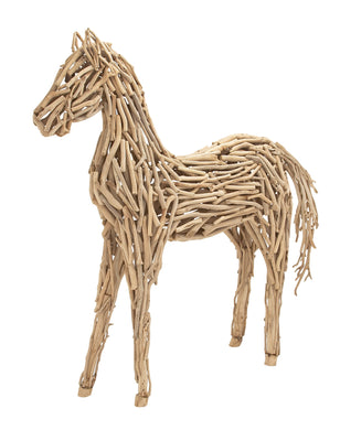 Flawlessly Designed Driftwood Large Horse