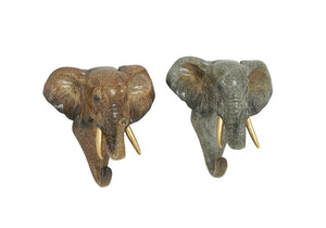 2 Assorted Wonderfully Crafted Elephant Hook