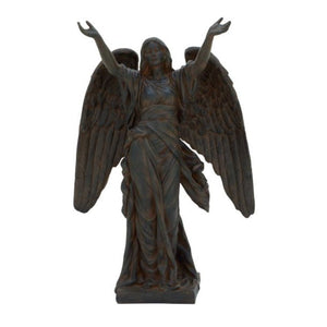 "79945 Polystone Angel 23""W, 35""H"