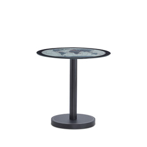 ACME Boli Side Table in Map Glass & Black