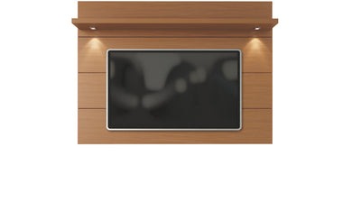 Manhattan Comfort Cabrini Floating Wall TV Panel 1.8 in Maple Cream