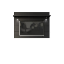 Manhattan Comfort Cabrini Floating Wall TV Panel 2.2 in Black Matte
