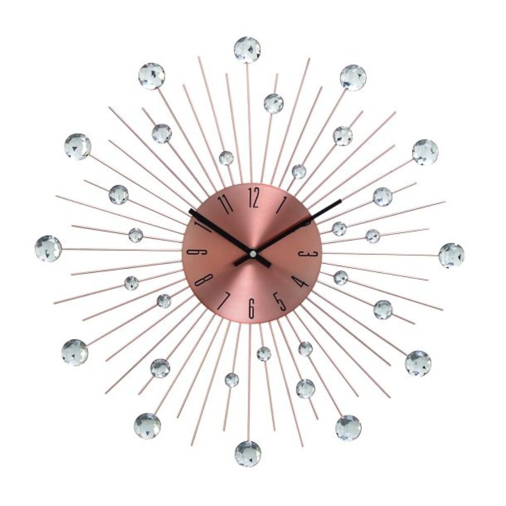 Metal Acrl Copper Wall Clock 20