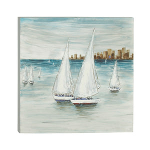 Simply Cool Canvas Aluminium Art