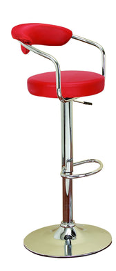 Chrom Vinyl Bar Chair For Stylish Bar Seating