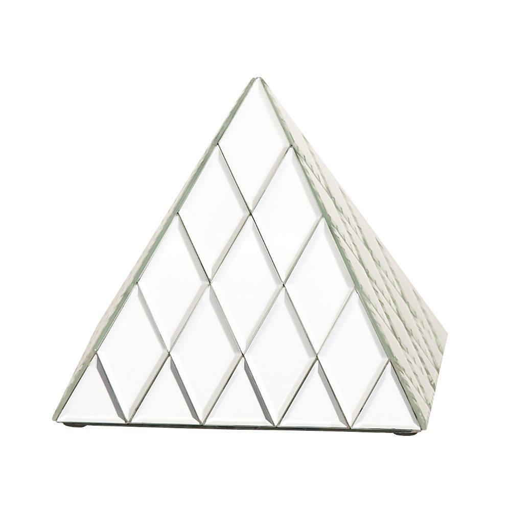 Useful Glass Mirror Pyramid