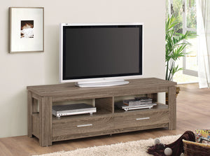 Acme Xanti TV Stand, Dark Taupe