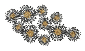 Stunning Metal Flower Wall Decor