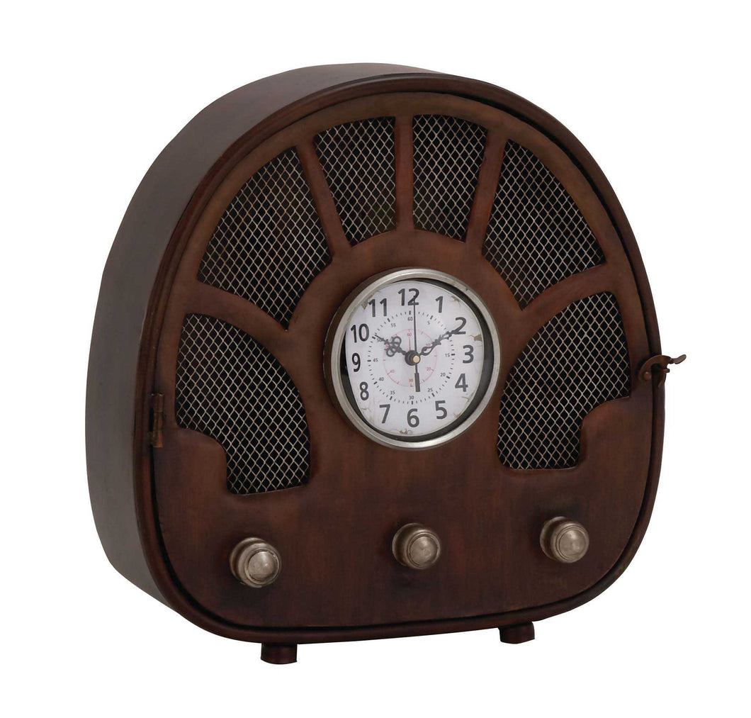 Fascinating Styled Berlin Metal Table Clock