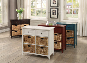 ACME Flavius 6 Drawers Accent Chest in White