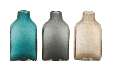 The Delicate Glass Bottle Vase 3 Assorted