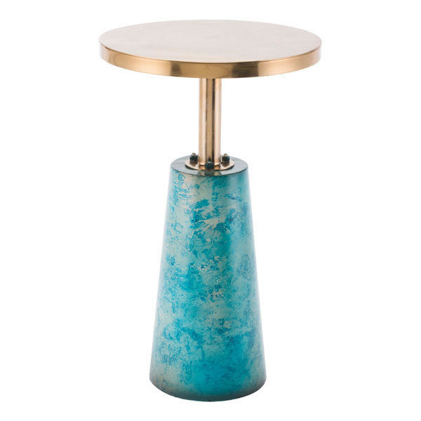 Zaphire End Table Teal