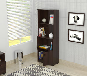 Bookcase with Storage Area
