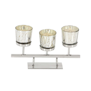 Heavenly Glass Votive Holder