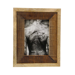 Prodigious Picture Frame Wooden, Brown