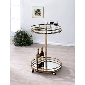 Trixie Contemporary Serving Cart