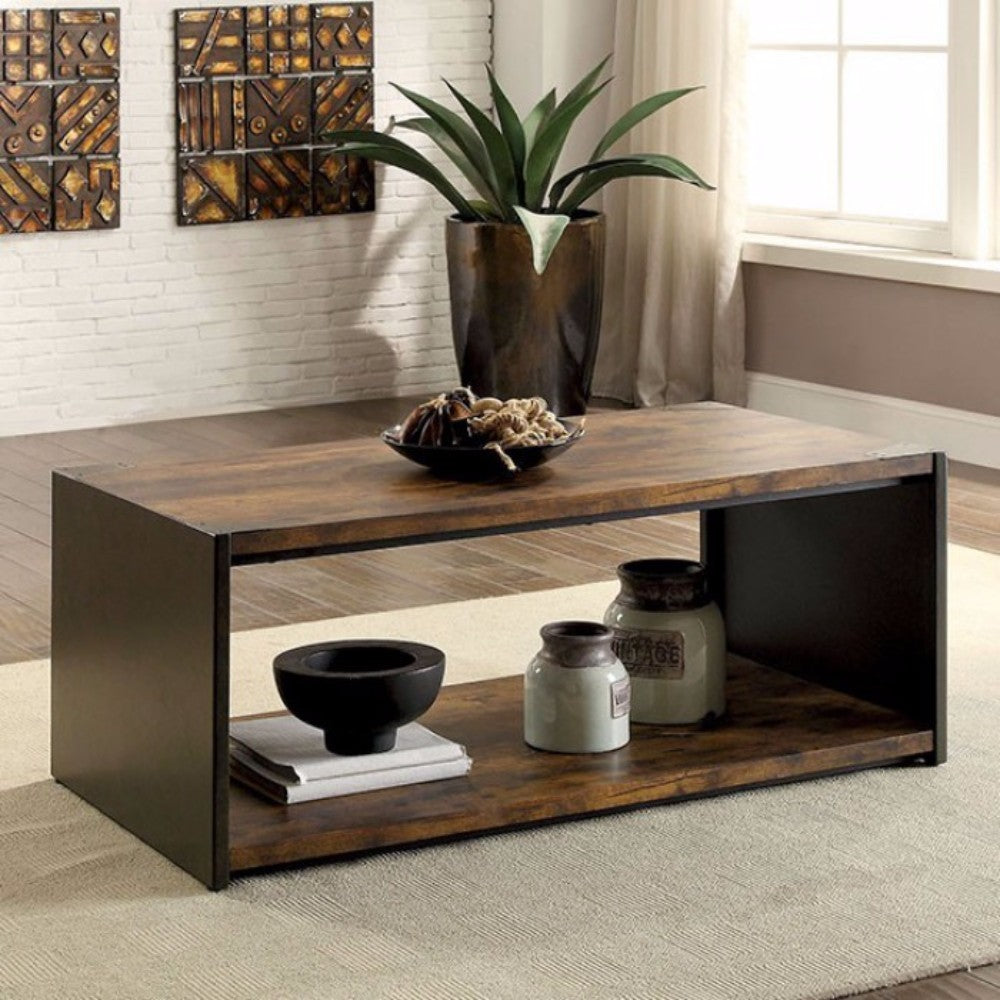 Matte Black Coffee Table