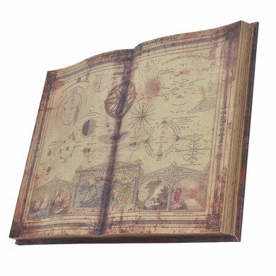 Ancient Book Wall Decoration Art Piece - Benzara