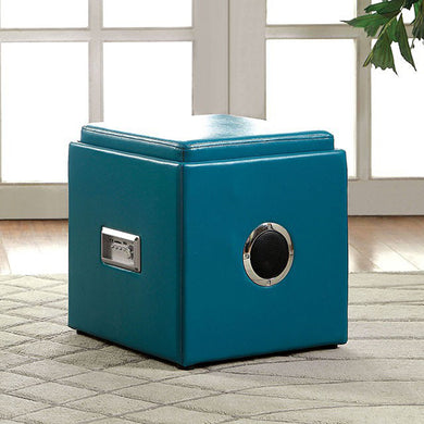Armoni Contemporary Ottoman, Blue