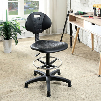 Hingham Contemporary Office Chair, Black Finish