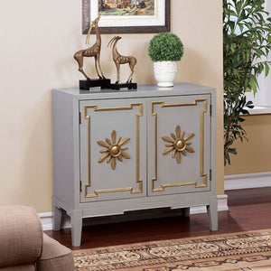 Nayeli Vintage Hallway Chest, Gray