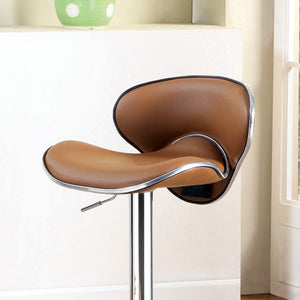 Kossi Contemporary Kossi Bar Stool, Camel