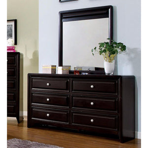 Yorkville Transitional Style Dresser, Espresso Finish