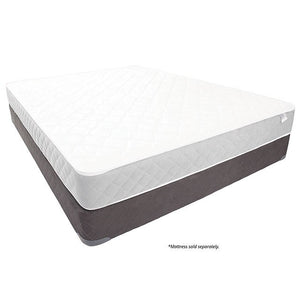 Queen-Size Kalie Foundation Tight Top Mattress, White And Gray